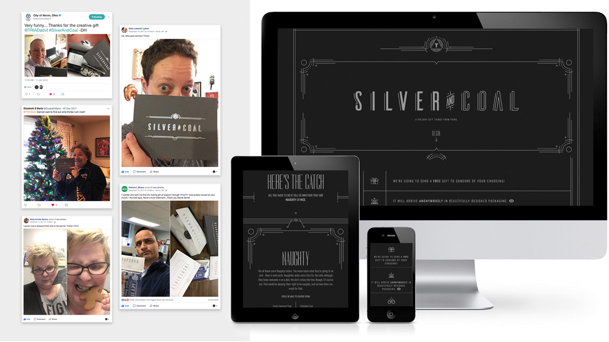 Silver and Coal web project