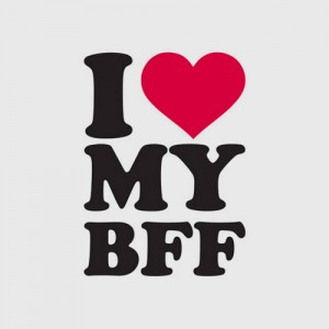 I love my bff